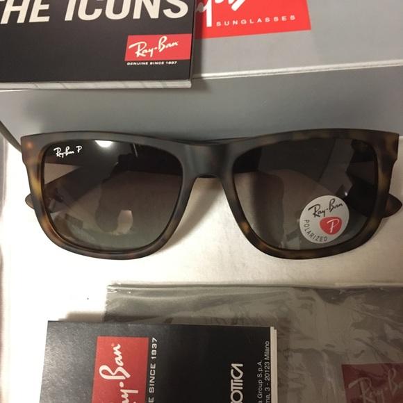 b30746f2b Ray-Ban Accessories | Rayban Justin Rb 4165 Havana Sunglasses ...
